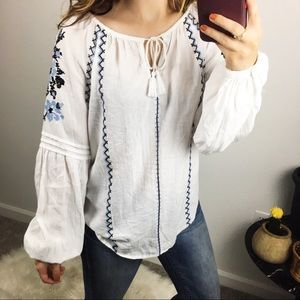 GAP long sleeve blouse